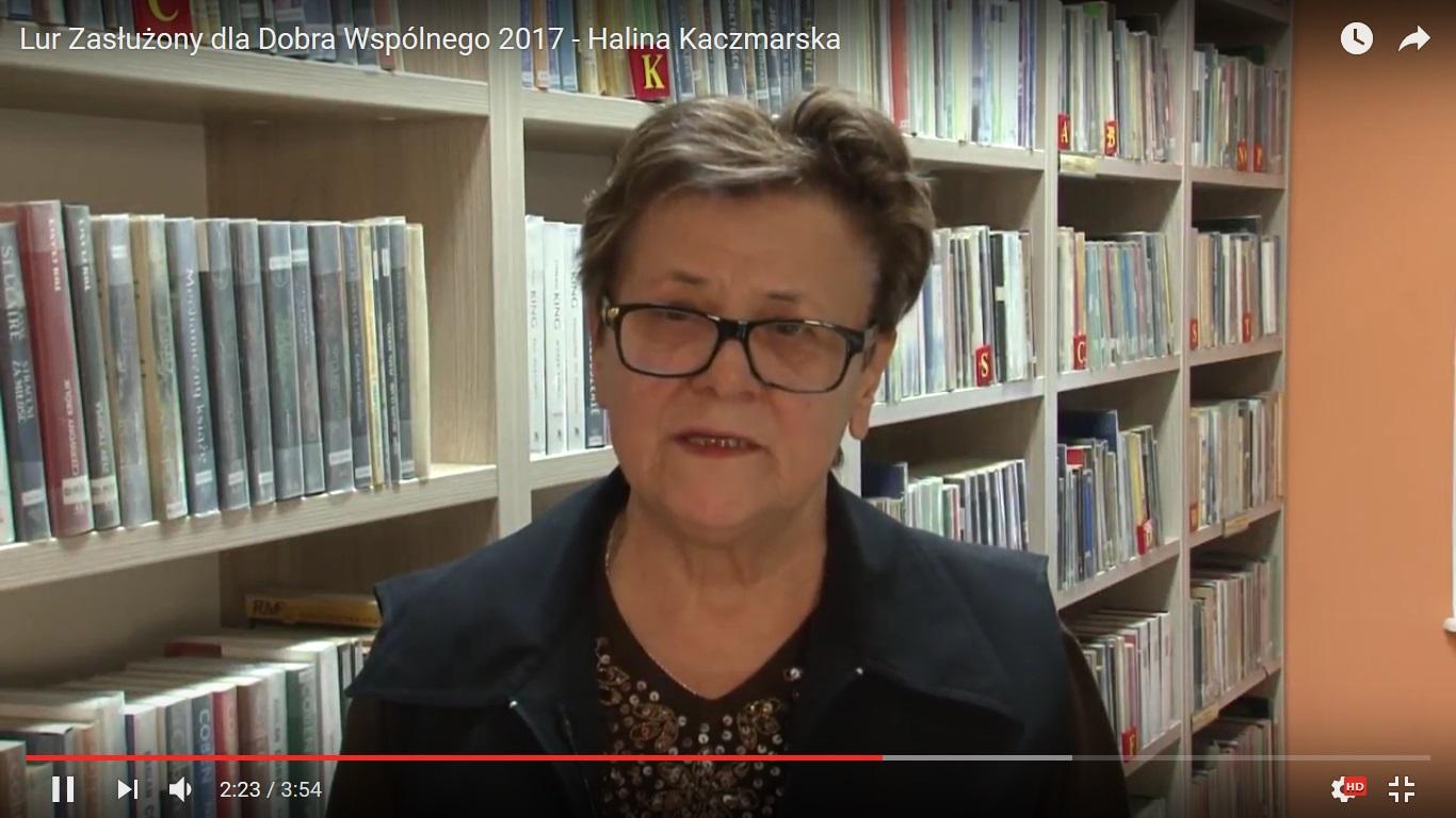 Miniatura filmu: Lur Zasłużony dla Dobra Wspólnego 2017 - Halina Kaczmarska