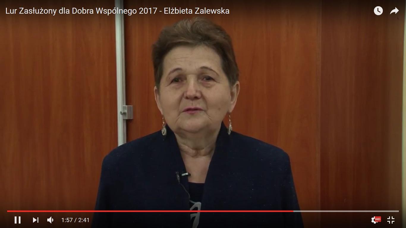 Miniatura filmu: Lur Zasłużony dla Dobra Wspólnego 2017 - Elżbieta Zalewska