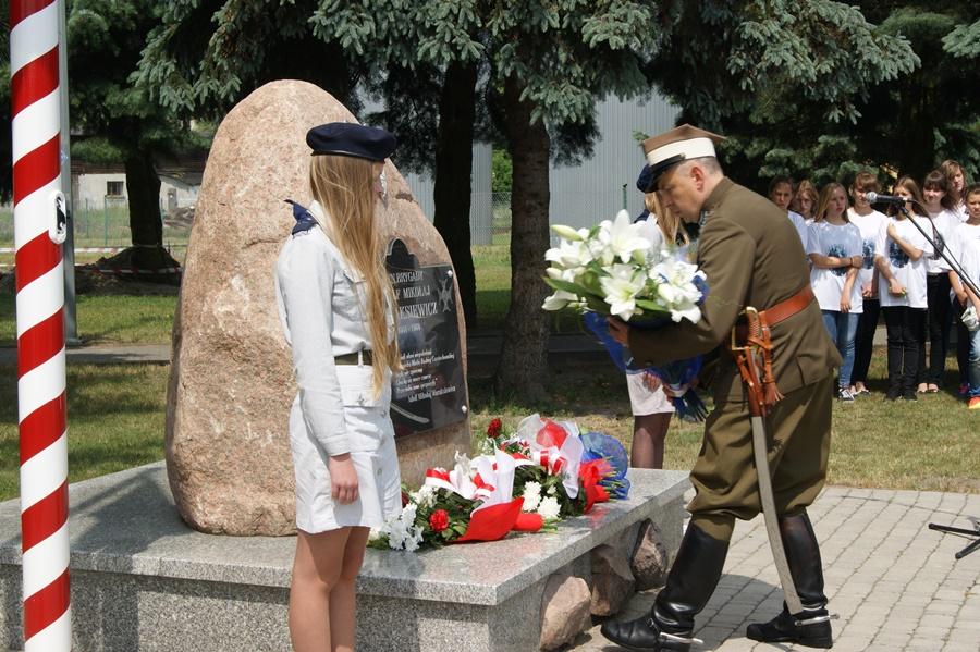 Miniatura filmu: Uroczystość nadania nazwy skwerowi imienia 2. Pułku Ułanów Grochowskich