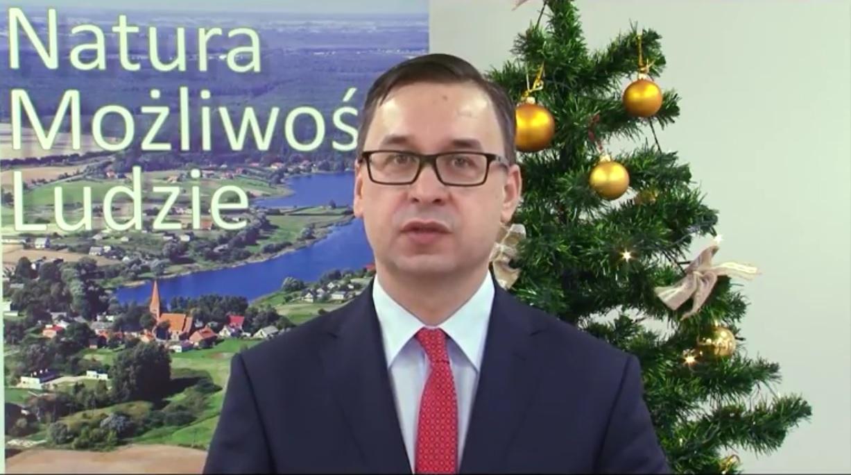 Miniatura filmu: Życzenia świąteczne Wójta Gminy Nowe Miasto Lubawskie